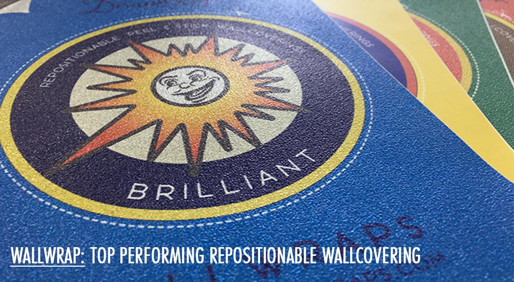 WallWrap - Industry Favorite Repositionable, Peel & Stick Wallcovering
